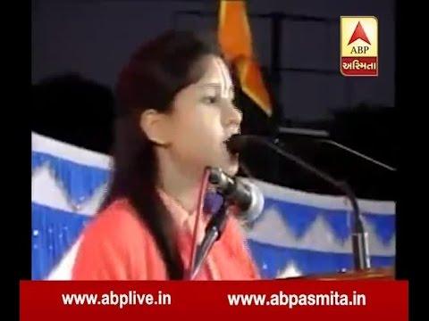 kasmir To Hoga Poem By Balika Sadhvi Saraswati