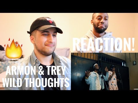 Ar'mon And Trey | Wild Thoughts, Im The One, Slippery, Despacito MASHUP (REACTION!)