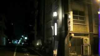 2012年3月に撮影。東京都台東区の下谷、竜泉、千束、入谷の「たけくらべ...