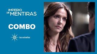 Imperio de mentiras: Cristina le pide a Eugenio que le entregue a Elisa | C- 74 | Las Estrellas