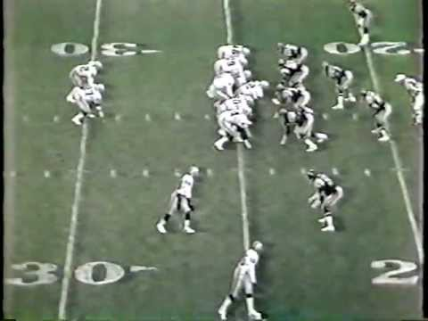 """1985 L A RAIDERS AT CHARGERS OVERTIME """"LITTLE TRAIN"""" JAMES WINS IT!"""