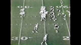 "1985 L A RAIDERS AT CHARGERS OVERTIME ""LITTLE TRAIN"" JAMES WINS IT!"