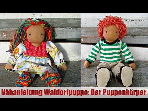 DIY | Waldorfpuppe: Puppenkörper stopfen und nähen| Klassische Sami Doll Anleitung | Teil 3