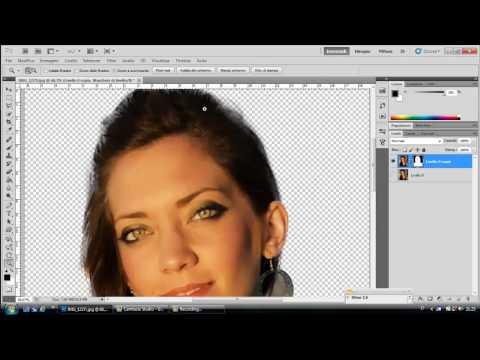 Scontorno Professionale Su-SFONDO DIFFICILE-Photoshop Tutorial-ITALIANO