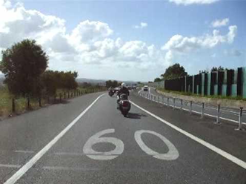 Touring with Uni-Go (Single-Wheeled) Motorcycle Trailer in Australia (6) April 2009