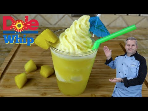 How to Make Dole Whip | DIY Pineapple Dole Whip