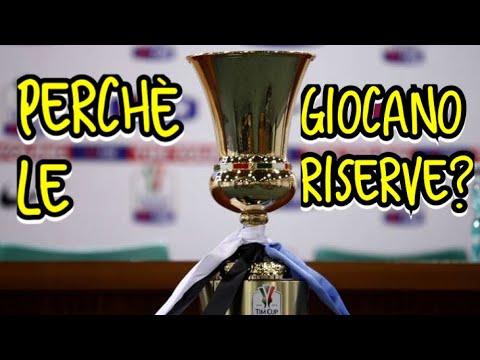 Perchè in COPPA ITALIA giocano sempre le RISERVE? Ma che vi fa schifo?