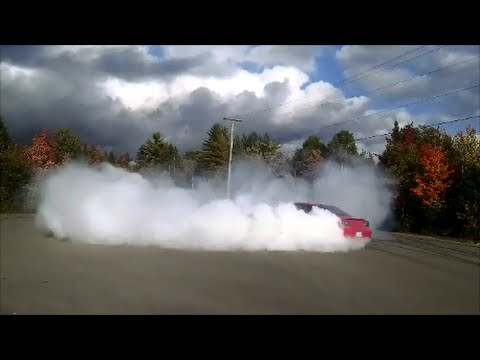 Twin engine 1200HP AWD burnout and walkaround