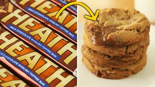 How To Make Candy Bar Cookies • Tasty