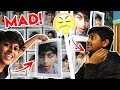 COVERING MY BROTHERS BEDROOM WITH PICTURES OF MY FACE *PRANK* (HILARIOUS)