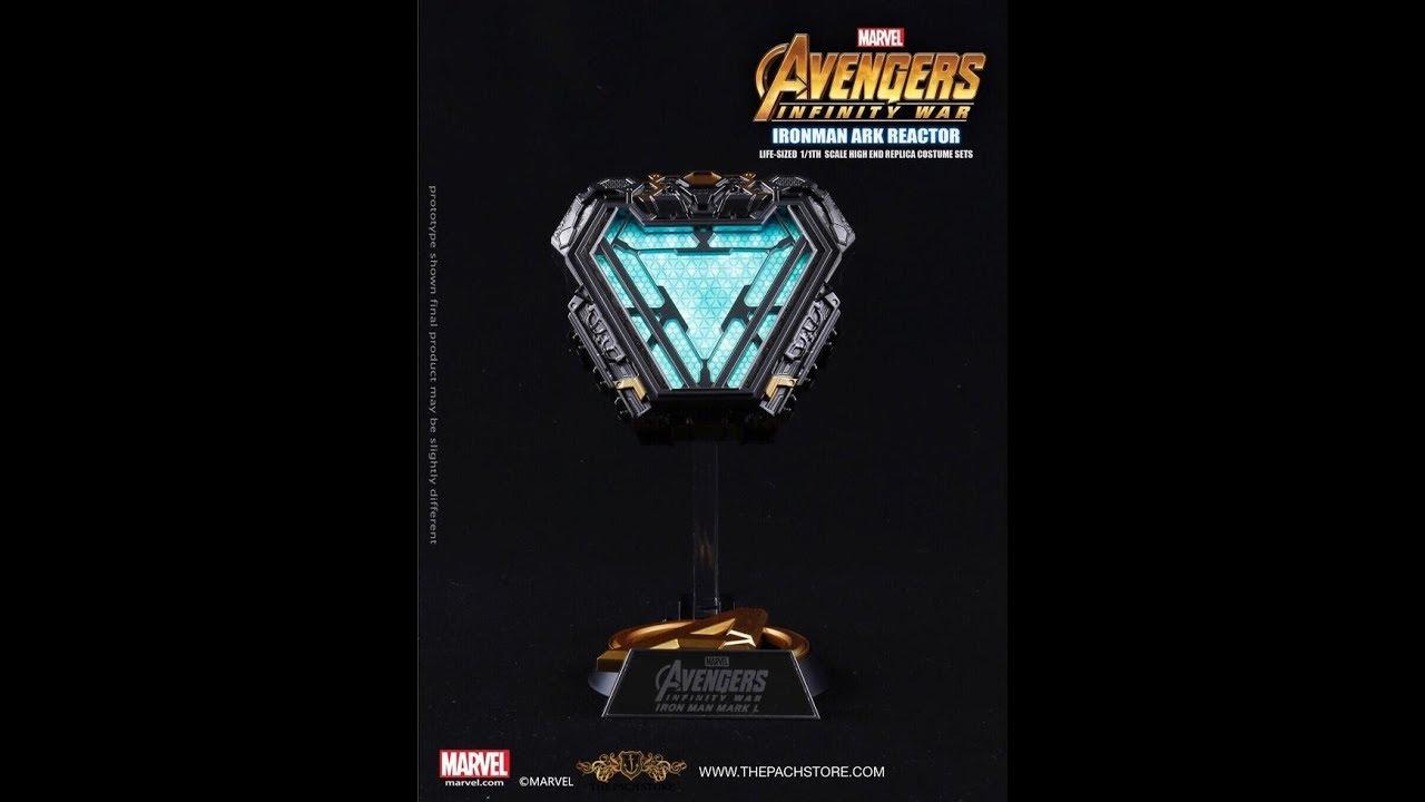 Avengers Infinity War- Iron Man Arc Reactor MARK L 50