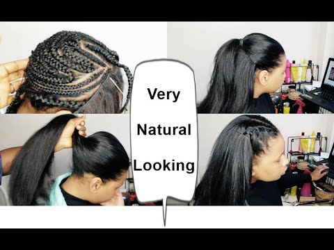 you-can't-tell-it's-fake-hair--how-to-natural-looking-sew-in-ft-alipearlhair