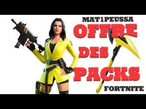 FORTNITE EN DIRECT , LIVE PARTIES PERSO , OFFRE PACKS A 5€  , PP CACHE-CACHE , BOUTIQUE FORTNITE