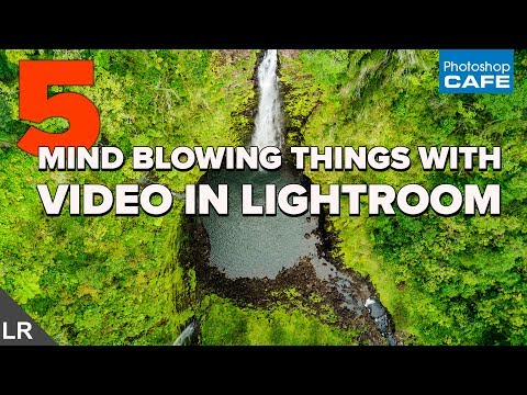 VIDEO in LIGHTROOM | 5 MIND BLOWING things you can do