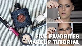 Five Favorites (with subs) - Linda Hallberg Makeup Tutorials Thumbnail