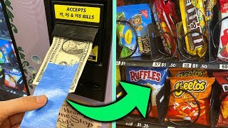 WILL TAPE ON A DOLLAR HACK WORK AT THE VENDING MACHINE??
