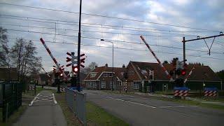Spoorwegovergang Peperga // Dutch railroad crossing