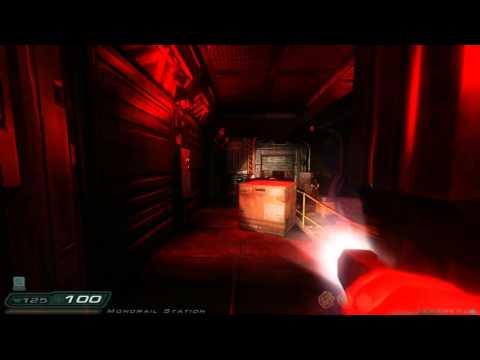 Doom 3: RoE Walkthrough Part 10 HD - Phobos Labs - Revisited: Teleportation