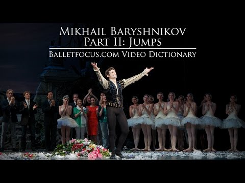 Mikhail Baryshnikov Part II: Jumps