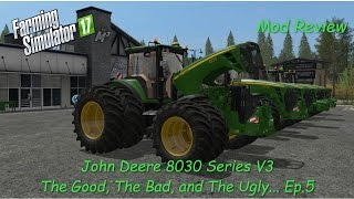 "[""Farming Simulator"", ""Farming Simulator 2017"", ""Farming"", ""Simulator"", ""Mod"", ""Review"", ""1080p"", ""60fps"", ""Goldcrest Valley"", ""Goldcrest"", ""Valley"", ""2017"", ""Mod Review"", ""FS17"", ""Simulation"", ""John Deere"", ""John"", ""Deere"", ""Dear"", ""8030"", ""Series"", ""V3"""
