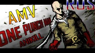 AMV One Punch Man [Skillet-Герой] RUS