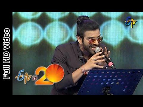 Sreeram Chandra Performance - Come to the Party Song in Bheemavaram ETV @ 20 Celebrations