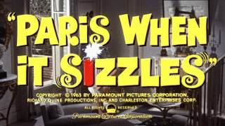 Paris When It Sizzles (1964) - Trailer