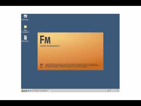 Adobe FrameMaker: 02 - Install after Trial Download