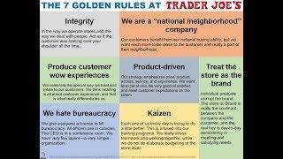 THE 7 GOLDEN RULES AT TRADER JOE'S via Dan Bane