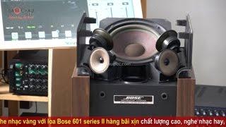 Nghe nhạc vàng cực hay với loa Bose 601 series II bãi xịn tại Bảo Châu Elec