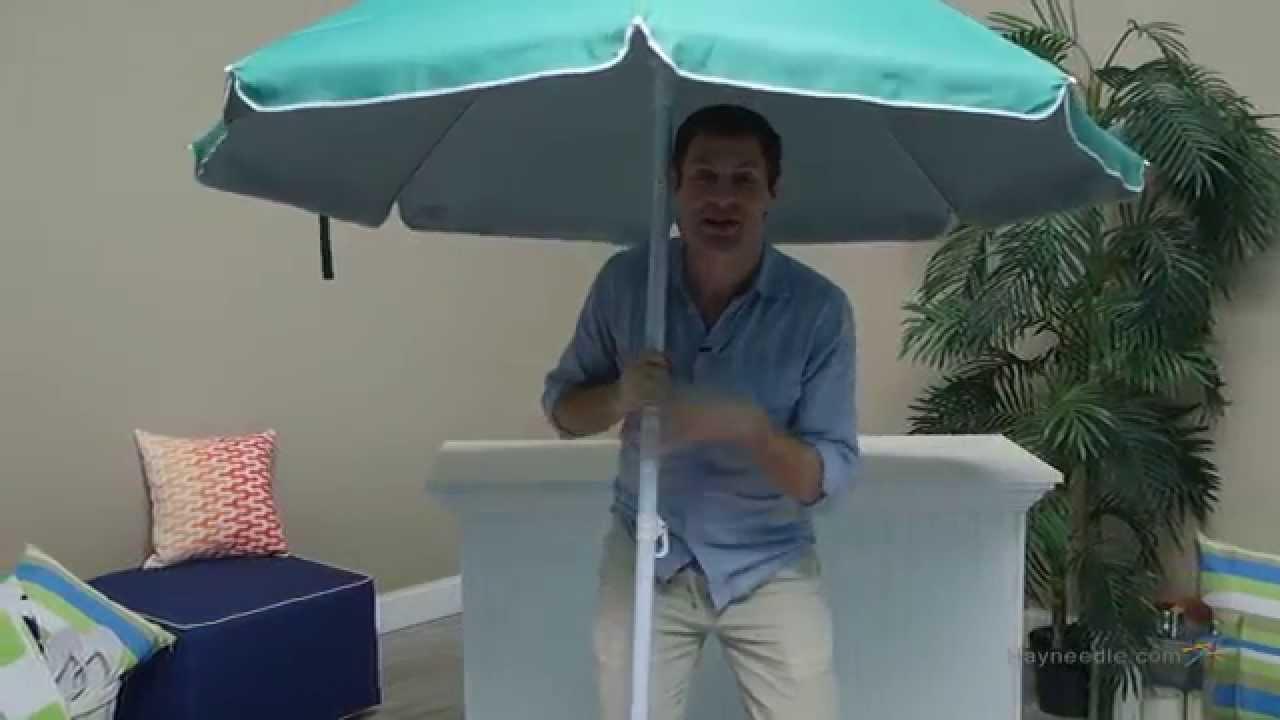 Rio Green Sun Blocking Beach Umbrella