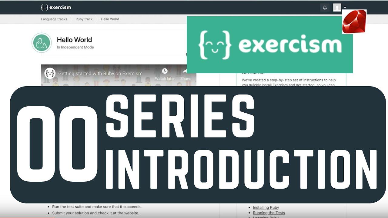 exercism io Series Introduction