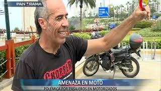 ¿Se debe permitir o no la circulación de motos con dos pasajeros?