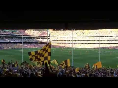 2014 AFL Grand Final - final minute of play - Hawthorn v Sydney