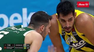 Fenerbahçe Beko - Panathinaikos Full Euroleague 15.01.2021