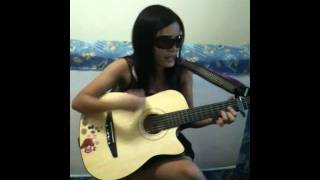 You belong with me taylor swift guitar cover(: