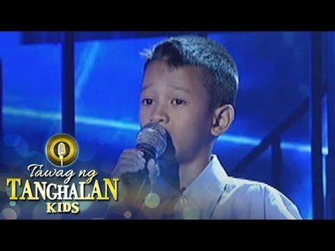 "Tawag ng Tanghalan Kids: FJ ""Ambo"" Sadiwa   Forever"
