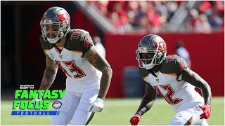 Week 6 fantasy player rankings | Fantasy Focus Live!