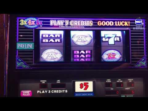 High limit slot machine at Firekeepers casino Battle Creek Michigan 2017