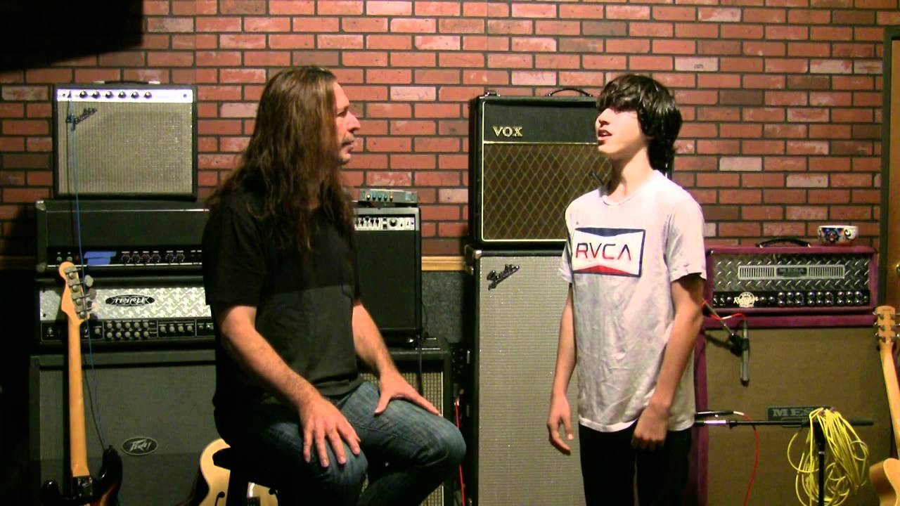 Vocal Lessons - Ken Tamplin Coaches 14 Year Old Student - How To Sing - Journey - Faithfully