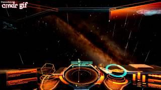Elite: Dangerous - Интерфейс корабля и радар.