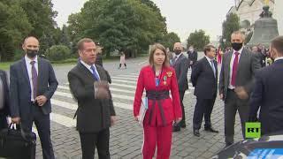 تسليم سيارات للرياضيين الروس المتوجين بميداليات أولمبياد طوكيو