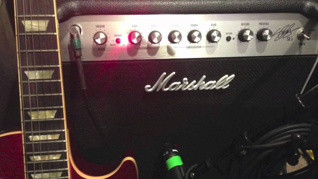Marshall origin 50c (50 watt combo) demo/sound samples youtube.
