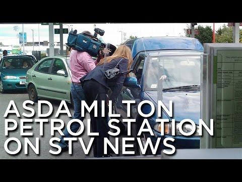 2009-07-10 'ASDA Milton Petrol Station On STV News'