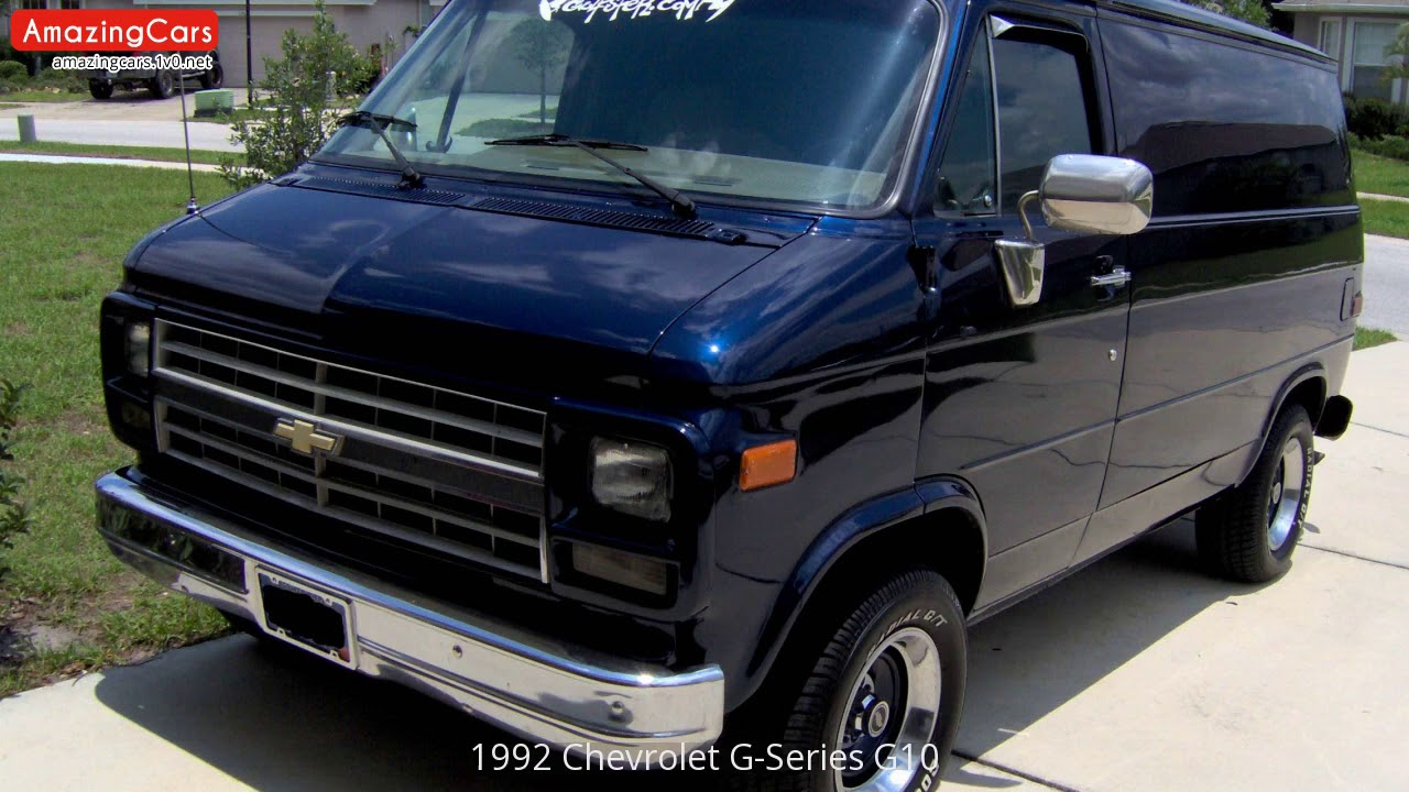 1992 Chevrolet G-Series G10 - YouTube