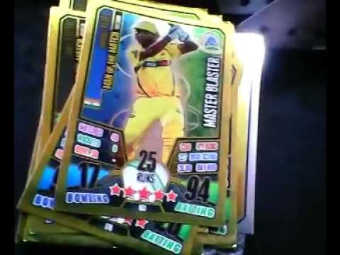 Best cricket attax cards 2013 2014 youtube for Best cards for 2015