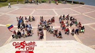 Go Skateboarding Day 2014 Cartagena-Colombia