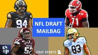 NFL Draft Rumors On Andrew Thomas, AJ Epenesa, Trades, Chase Claypool & Justin Madubuike | Mailbag