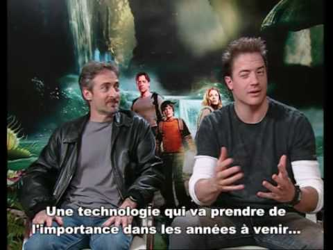 brendan fraser and Eric Brevig talking about journey to the center of the earth