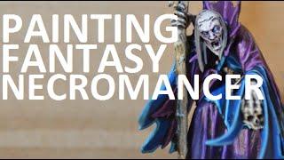 Painting Fantasy   Necromancer